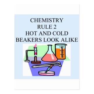 chemistry rule 2 postcard