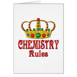 CHEMISTRY Rules Greeting Cards