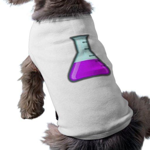 Chemistry Science Beaker Pet Tee Shirt