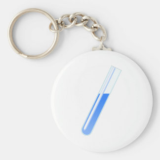 Chemistry Science Test Tube Keychain