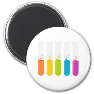 Chemistry Science Test Tubes 2 Inch Round Magnet