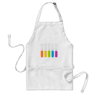Chemistry Science Test Tubes Adult Apron