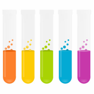 Chemistry Science Test Tubes Cutout