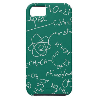 Chemistry scribbles iPhone 5 cases
