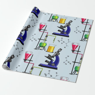 Chemistry Set Wrapping Paper