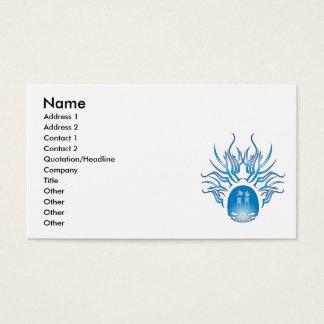 Chemistry Skull Business Card