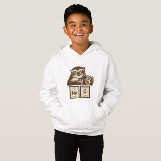 Chemistry sloth discovered nap hoodie