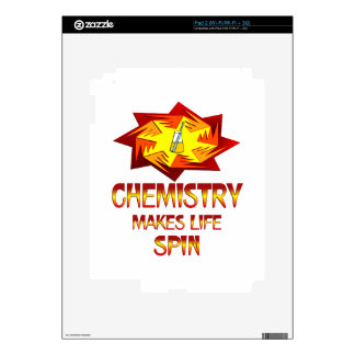 Chemistry Spins Decal For The iPad 2