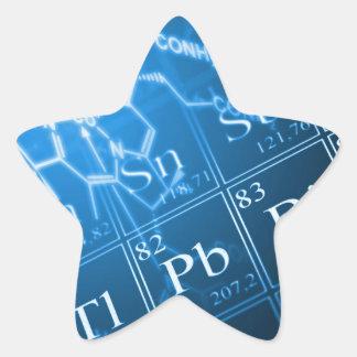 Chemistry Star Sticker