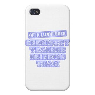Chemistry Teacher Drinking Team iPhone 4 Case