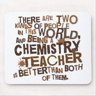 Chemistry Teacher Gift Mouse Pad