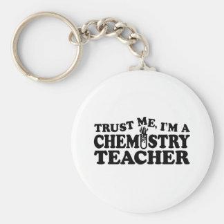 Chemistry Teacher Keychain