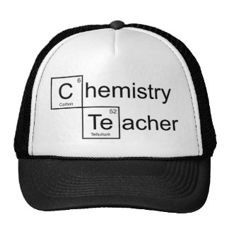 Chemistry Teacher Trucker Hat