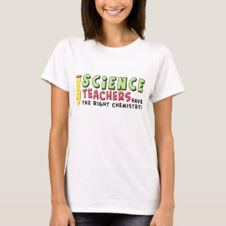 Chemistry teacher word art t-shirt