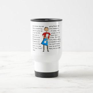 "Chemistry ""The Giant Beeker"" Guy Hilarious Travel Mug"