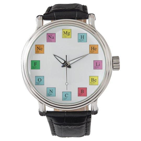 Chemistry Time Wristwatch