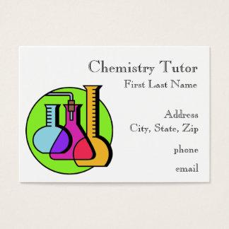 Chemistry Tutor Business Cards
