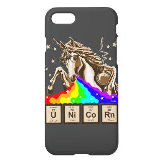 Chemistry unicorn pukes rainbow iPhone 7 case