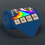 "Chemistry unicorn vomits rainbow tie<br><div class=""desc"">Funny chemistry unicorn vomits rainbow</div>"