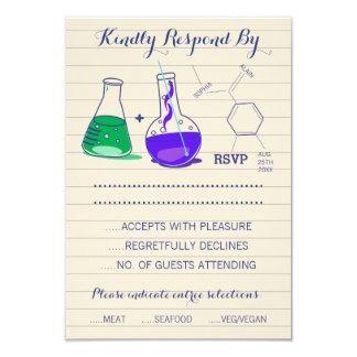 Chemistry Wedding Response Cards