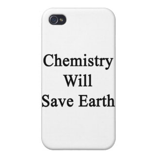 Chemistry Will Save Earth iPhone 4 Cover