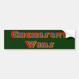 Chemistry Wins Bumper Sticker