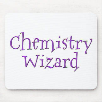 Chemistry Wizard Mouse Pad