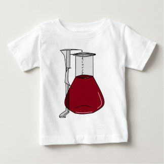 Chemists Chemistry Beakers Test Tubes Solutions Infant T-shirt