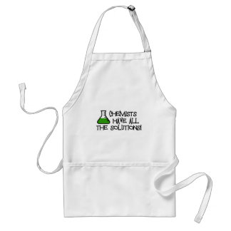 Chemists Have All The Solutions Adult Apron