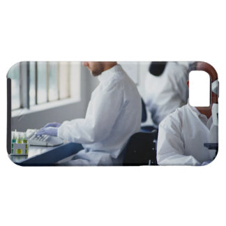 Chemists Working in a Laboratory iPhone 5 Cover
