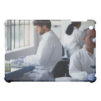 Chemists Working in a Laboratory iPad Mini Case