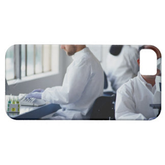 Chemists Working in a Laboratory iPhone 5 Covers