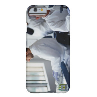 Chemists Working in a Laboratory iPhone 6 Case
