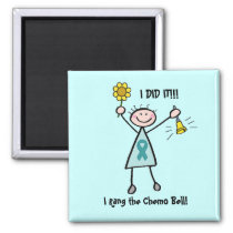 Chemo Bell - Cervical Cancer Magnet