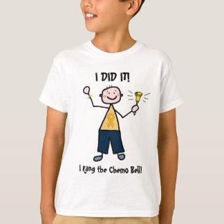 Chemo Bell - Childhood Cancer Gold Ribbon T-Shirt