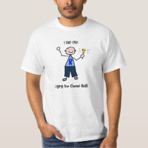 Chemo Bell - Colon Cancer Man T-Shirt