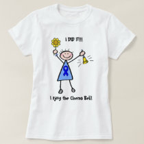 Chemo Bell - Colon Cancer Woman T-Shirt