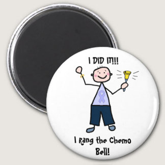 Chemo Bell - General Cancer Male Magnet