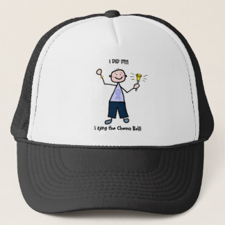 Chemo Bell - General Cancer Male Trucker Hat