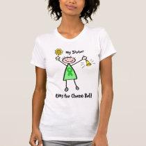 Chemo Bell - Kidney Cancer Green Ribbon Woman T-Shirt