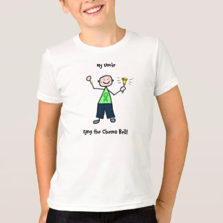 Chemo Bell - Kidney Cancer Man T-Shirt