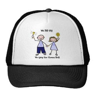 Chemo Bell - Lavender Ribbon Male Mesh Hat