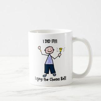 Chemo Bell - Lavender Ribbon Male Coffee Mug