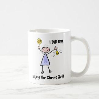Chemo Bell - Lavender Ribbon Woman Coffee Mugs