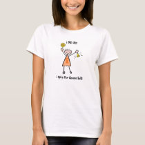 Chemo Bell - Leukemia Woman or Girl T-Shirt