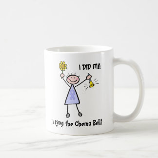 Chemo Bell - mujer de la cinta de la lavanda Taza De Café