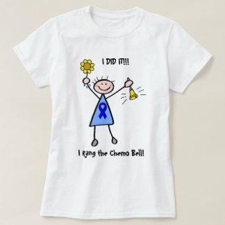 Chemo Bell - mujer del cáncer de colon Playera