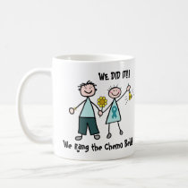 Chemo Bell - Ovarian Cancer Teal Ribbon Coffee Mug