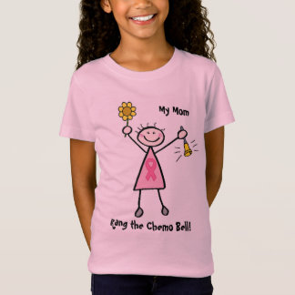Chemo Bell - Pink Ribbon Breast Cancer T-Shirt