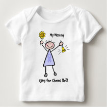 Chemo Bell - Stomach Cancer Woman Baby T-Shirt